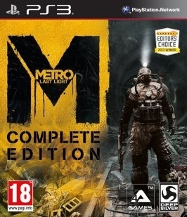 Metro Last Light Complete Edition (PS3)